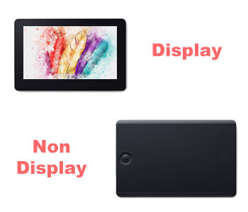 display or non display tablets