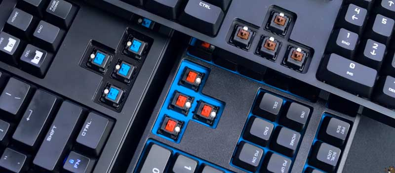 mechanical switches types