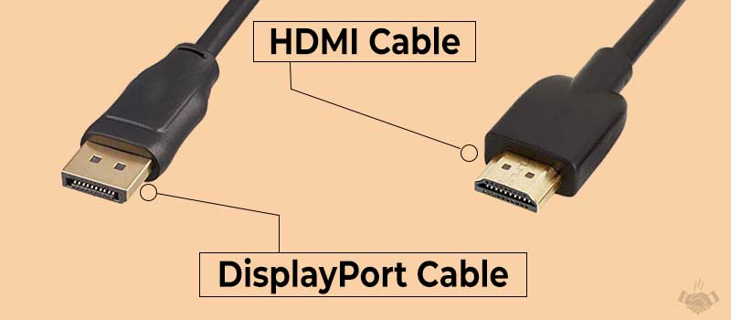 hdmi and display cable