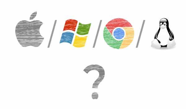 windows vs chromos vd macos vs linux